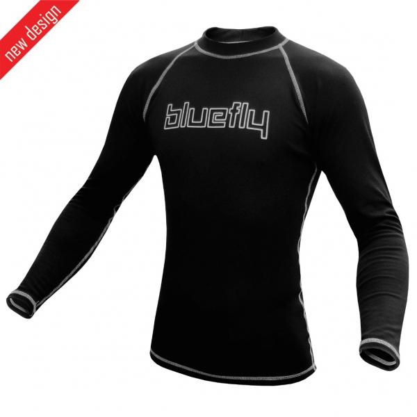 Pro tričko dlouhý rukáv černé funkční prádlo termo pro tričko